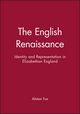 The English Renaissance: Identity and Representation in Elizabethan England (0631190295) cover image