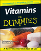 Vitamins For Dummies (0764551795) cover image