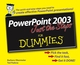 PowerPoint 2003 Just the Steps For Dummies (0764574795) cover image