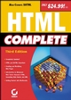 HTML Complete, 3rd Edition (0782142095) cover image