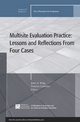 Multisite Evaluation Practice: Lessons and Reflections From Four Cases: New Directions for Evaluation, Number 129 (1118044495) cover image