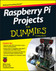 Raspberry Pi Projects For Dummies (1118766695) cover image