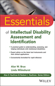 Essentials of Intellectual Disability Assessment and Identification (1118875095) cover image