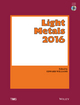 Light Metals 2016 (1119225795) cover image