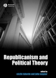Republicanism and Political Theory (1405155795) cover image