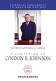 A Companion to Lyndon B. Johnson (1444333895) cover image