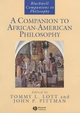 A Companion to African-American Philosophy (1557868395) cover image