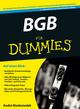 BGB für Dummies, 3. Auflage (3527696695) cover image