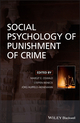 Social Psychology of Punishment of Crime (0470515996) cover image