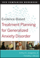 Evidence-Based Treatment Planning for General Anxiety Disorder Companion Workbook (0470568496) cover image