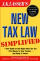 J.K. Lasser's New Tax Law Simplified  (0471216496) cover image