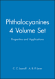 Phthalocyanines, Properties and Applications, 4 Volumes Set (0471238996) cover image
