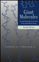 Giant Molecules: Essential Materials for Everyday Living and Problem Solving , 2nd Edition (0471273996) cover image