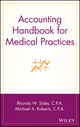 Accounting Handbook for Medical Practices (0471370096) cover image