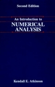 An Introduction to Numerical Analysis, 2nd Edition (0471624896) cover image