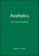 Aesthetics: The Classic Readings (0631195696) cover image