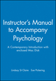 Instructor's Manual to Accompany Psychology: A Contemporary Introduction with enclosed Mac Disk (0631213996) cover image