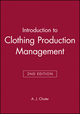 Introduction to Clothing Production Management, 2nd Edition (0632039396) cover image