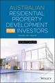 Australian Residential Property Development for Investors (0730315096) cover image