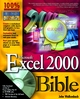 Microsoft Excel 2000 Bible (0764532596) cover image