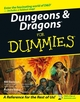Dungeons & Dragons® For Dummies® (0764584596) cover image