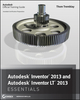 Autodesk Inventor 2013 and Autodesk Inventor LT 2013 Essentials (1118244796) cover image