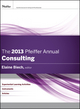 The 2013 Pfeiffer Annual: Consulting (1118273796) cover image