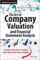 The Art of Company Valuation and Financial Statement Analysis: A Value Investor's Guide with Real-life Case Studies (1118843096) cover image