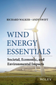 Wind Energy Essentials: Societal, Economic, and Environmental Impacts (1118877896) cover image