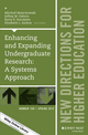 Enhancing and Expanding Undergraduate Research: A Systems Approach: New Directions for Higher Education, Number 169 (1119061296) cover image