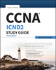 CCNA ICND2 Study Guide: Exam 200-105, 3rd Edition (1119290996) cover image