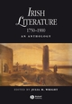 Irish Literature 1750-1900: An Anthology (1405145196) cover image