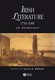 Irish Literature 1750-1900: An Anthology (1405145196) cover image