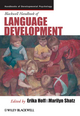 Blackwell Handbook of Language Development (1405194596) cover image