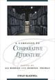 A Companion to Comparative Literature (1405198796) cover image