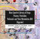 Mass Spectral Library of Drugs, Poisons, Pesticides, Pollutants and Their Metabolites 2011, Upgrade (3527323996) cover image