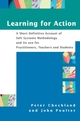 Learning For Action: A Short Definitive Account of Soft Systems Methodology, and its use Practitioners, Teachers and Students (EHEP000896) cover image
