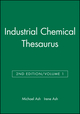 Industrial Chemical Thesaurus, Volume 1, 2nd Edition (0470144297) cover image