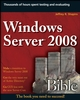 Windows Server 2008 Bible (0470170697) cover image