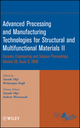 Advanced Processing and Manufacturing Technologies for Structural and Multifunctional Materials II, Volume 29, Issue 9 (0470344997) cover image