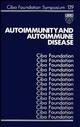 Autoimmunity and Autoimmune Disease (0470513497) cover image