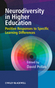 Neurodiversity in Higher Education: Positive Responses to Specific Learning Differences (0470741597) cover image