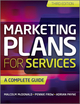 Marketing Plans for Services: A Complete Guide, 3rd Edition (0470979097) cover image