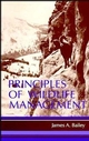 Principles of Wildlife Management (0471016497) cover image