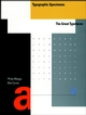 Typographic Specimens: The Great Typefaces (0471284297) cover image