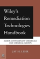Wiley's Remediation Technologies Handbook: Major Contaminant Chemicals and Chemical Groups (0471455997) cover image