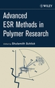 Advanced ESR Methods in Polymer Research (0471731897) cover image