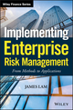 Implementing Enterprise Risk Management: From Methods to Applications (0471745197) cover image