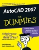 AutoCAD 2007 For Dummies (0471786497) cover image