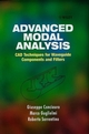 Advanced Modal Analysis (0471970697) cover image